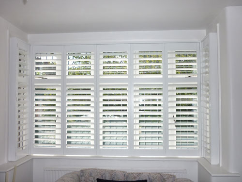 Uk plantation shutters for Discount bay windows